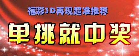晓东3D排列三单挑中组选